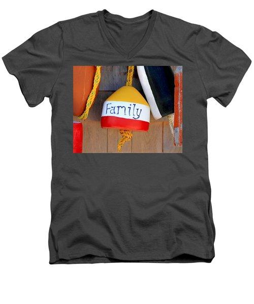 Family Buoy Men's V-Neck T-Shirt