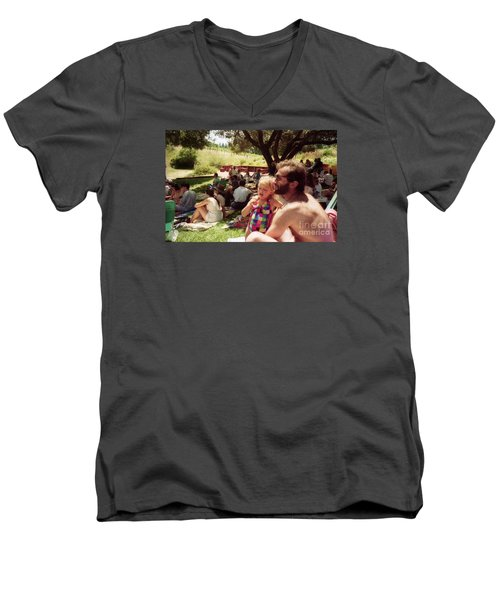Family Music Event Men's V-Neck T-Shirt