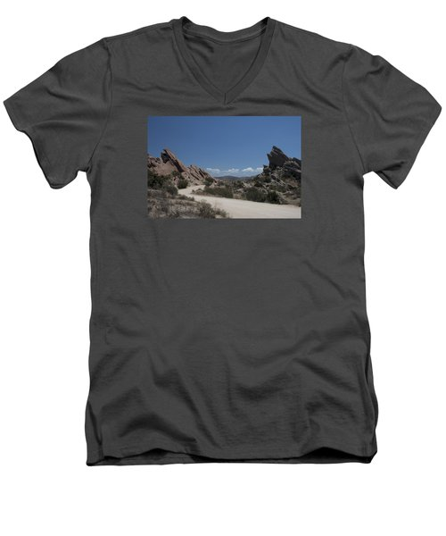 Famous Rocks Men's V-Neck T-Shirt