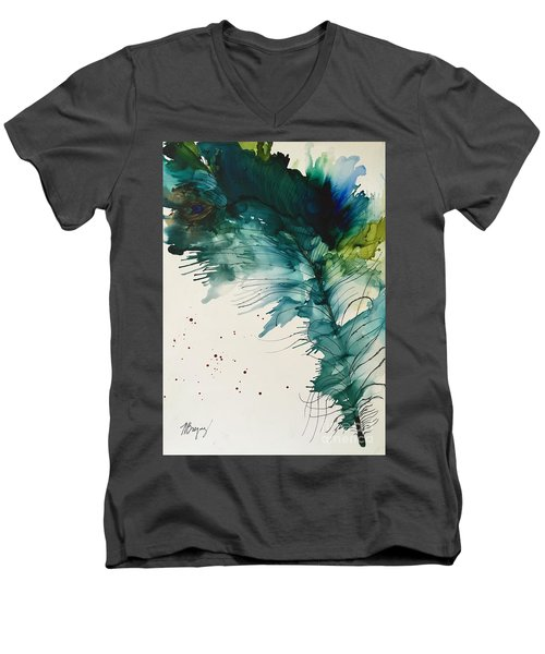 Fancy Feather Men's V-Neck T-Shirt