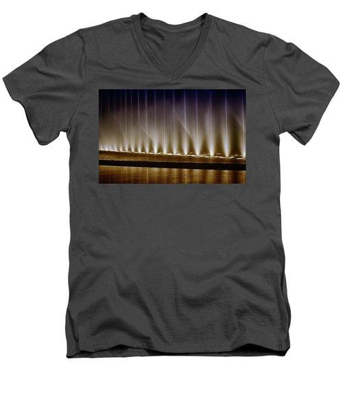 Fanfare Fountains Men's V-Neck T-Shirt