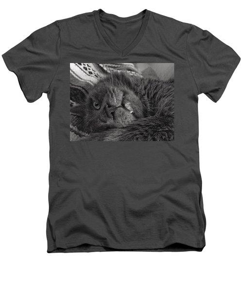 Fang  Men's V-Neck T-Shirt