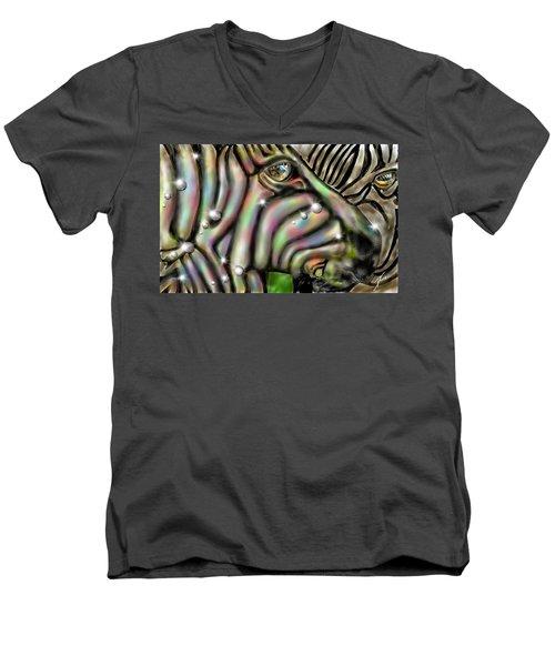 Fantastic Zebra Men's V-Neck T-Shirt