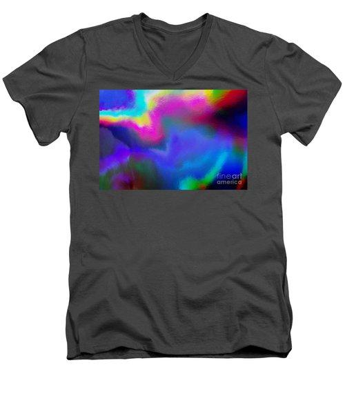 Summer Lights Men's V-Neck T-Shirt