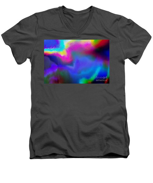 Summer Lights Men's V-Neck T-Shirt