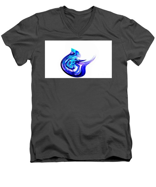Fantasy Bird Men's V-Neck T-Shirt by Thibault Toussaint