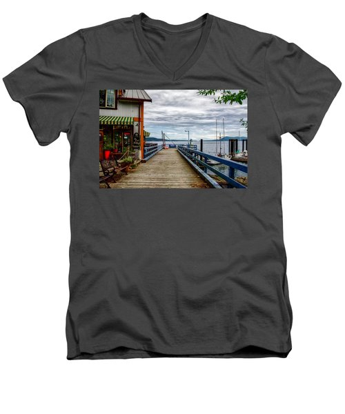 Fantasy Dock Men's V-Neck T-Shirt