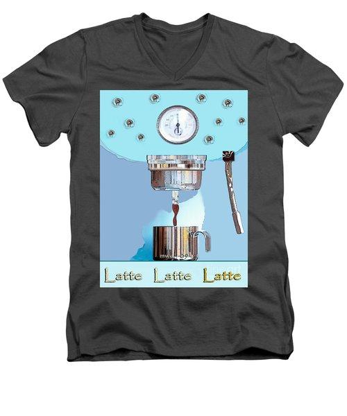 Fantasy Espresso Machine Men's V-Neck T-Shirt