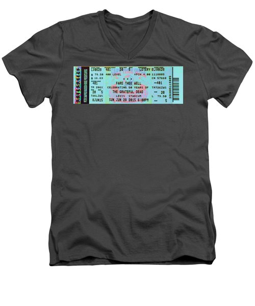 Fare Thee Well Men's V-Neck T-Shirt by Susan Carella
