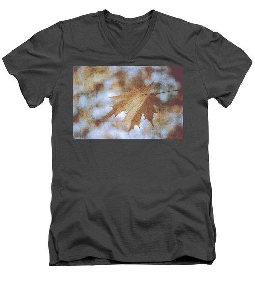 Men's V-Neck T-Shirt featuring the photograph Farewell Summer by Ari Salmela