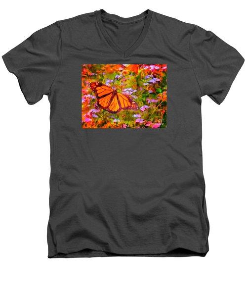 Farfalla 2015 Men's V-Neck T-Shirt