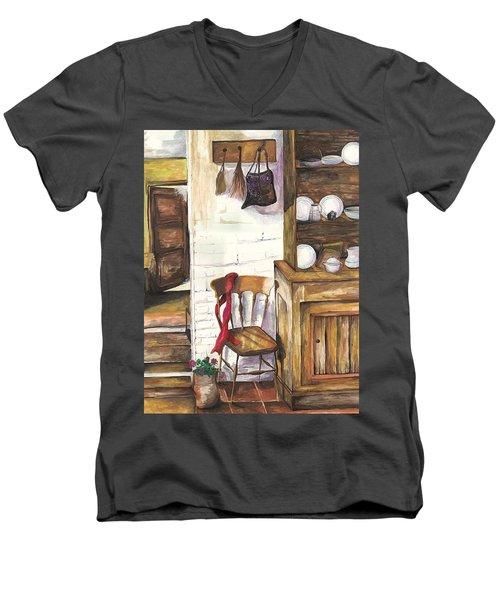 Farm House Men's V-Neck T-Shirt