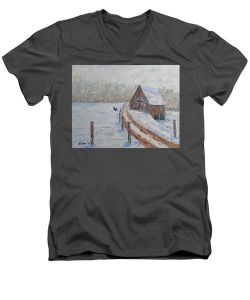 Farm Land Men's V-Neck T-Shirt