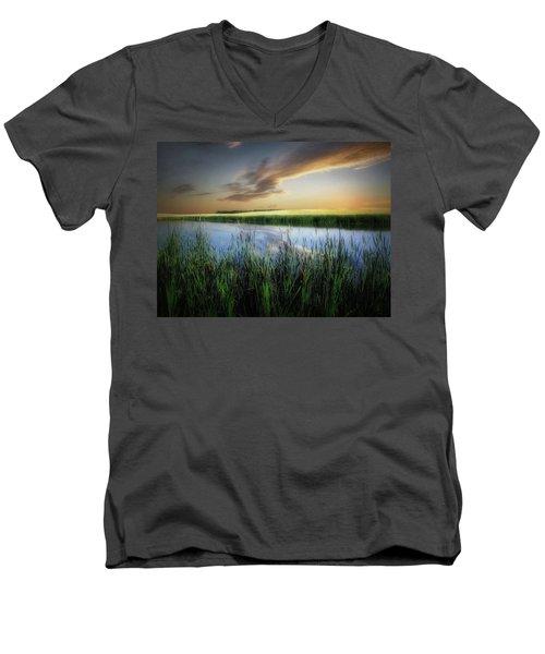 Farm Pond Men's V-Neck T-Shirt