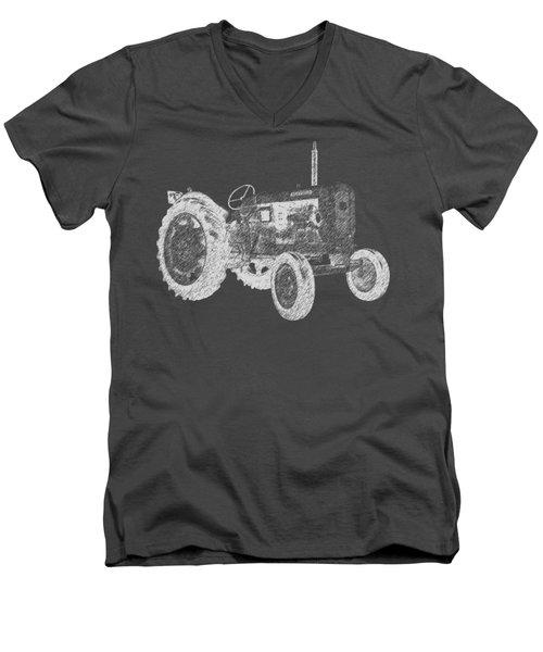 Farm Tractor Tee Men's V-Neck T-Shirt