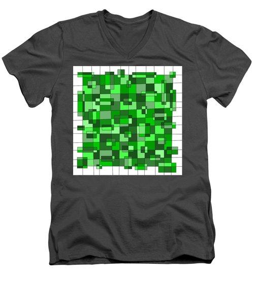 Farmer Green Men's V-Neck T-Shirt