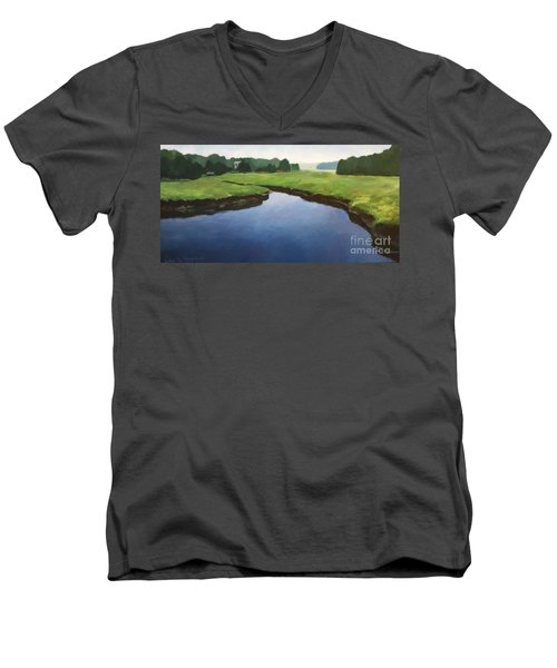 Farnhams Creek Men's V-Neck T-Shirt