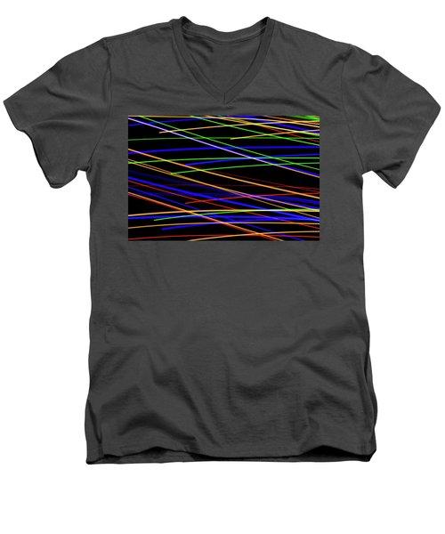 Fast Lanes Men's V-Neck T-Shirt