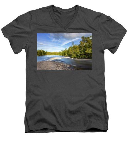 Fast Water Men's V-Neck T-Shirt