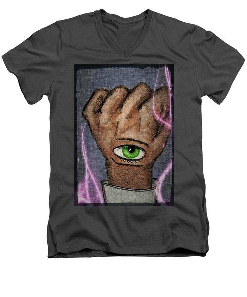 Faster Than. Men's V-Neck T-Shirt