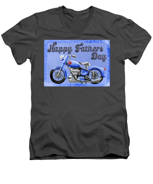 Father's Day Men's V-Neck T-Shirt