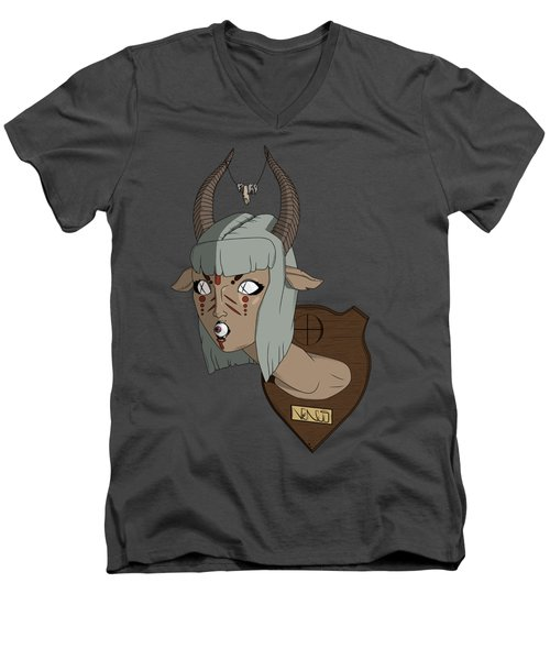 Faun Men's V-Neck T-Shirt