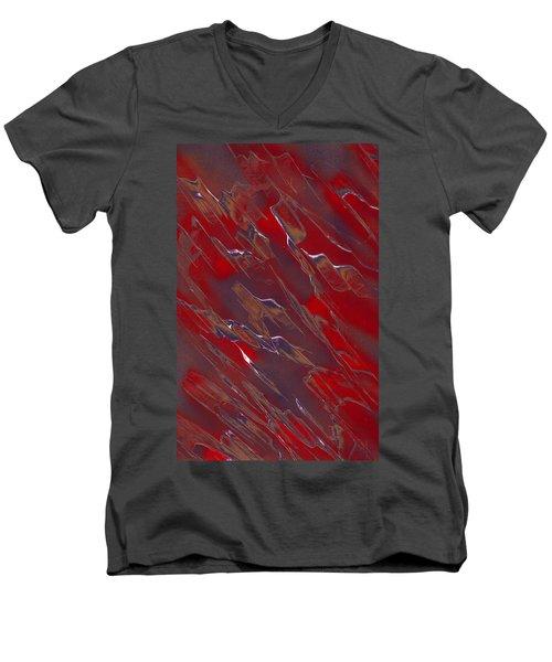 Faux Finish Men's V-Neck T-Shirt