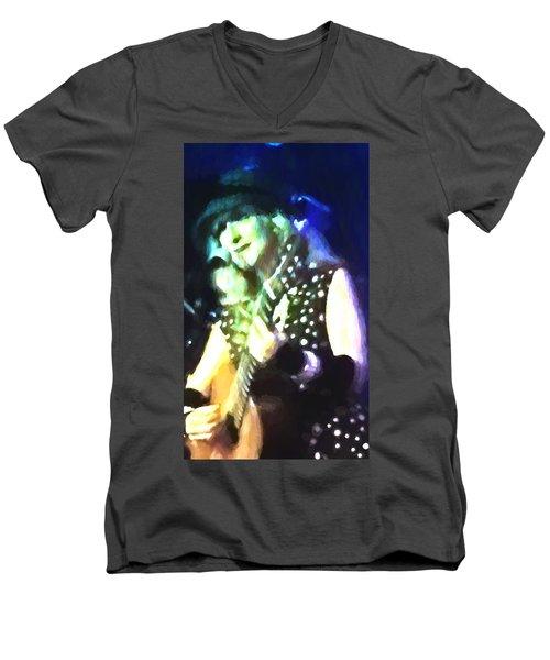 Favorite Jazz Singer Men's V-Neck T-Shirt