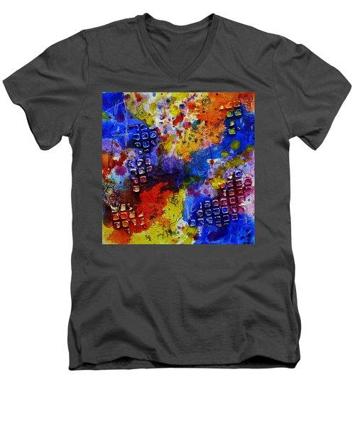 Favorite Mistake Men's V-Neck T-Shirt by Tracy Bonin