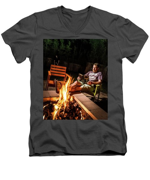 Fear By Fire Men's V-Neck T-Shirt