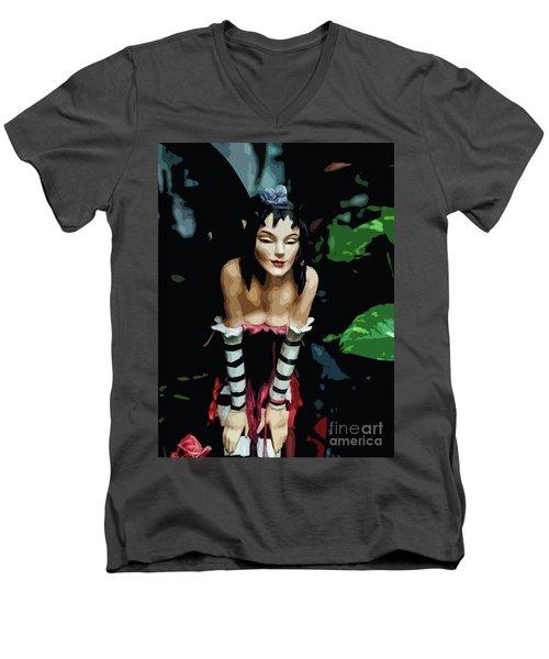 Fee_01 Men's V-Neck T-Shirt