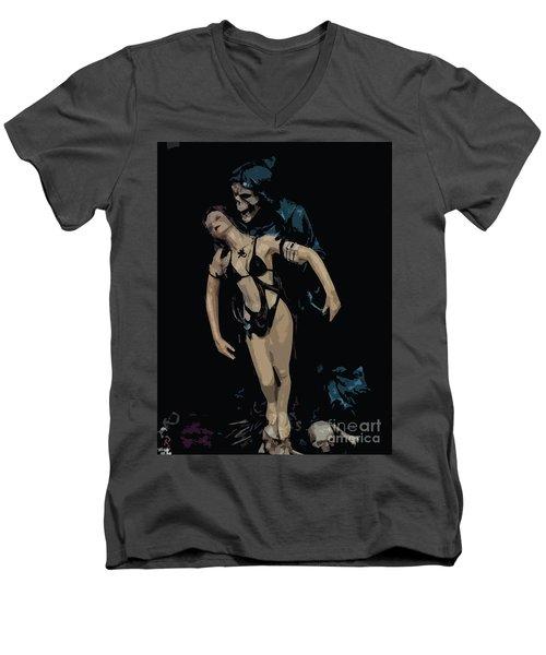 Fee_07 Men's V-Neck T-Shirt