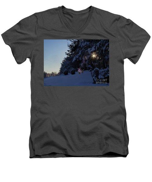 Feeding The Squirrels Men's V-Neck T-Shirt