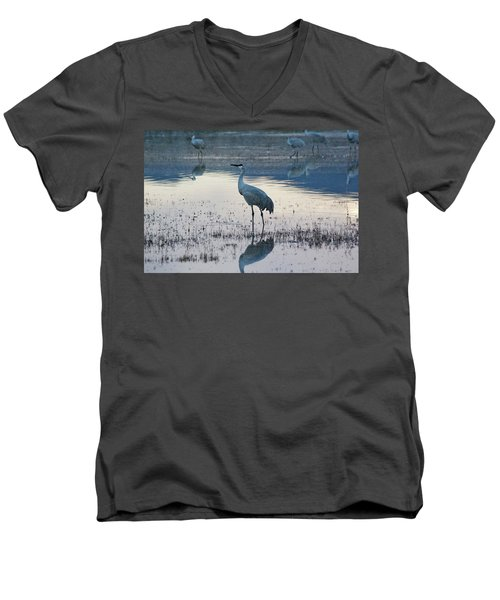 Feeling Blue Men's V-Neck T-Shirt