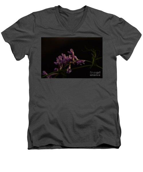 Feeling For The Last Bit Of Sunlight Men's V-Neck T-Shirt