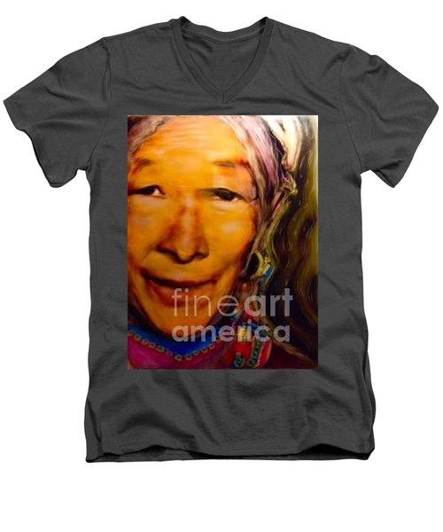Feeling Light Within We Walk Men's V-Neck T-Shirt