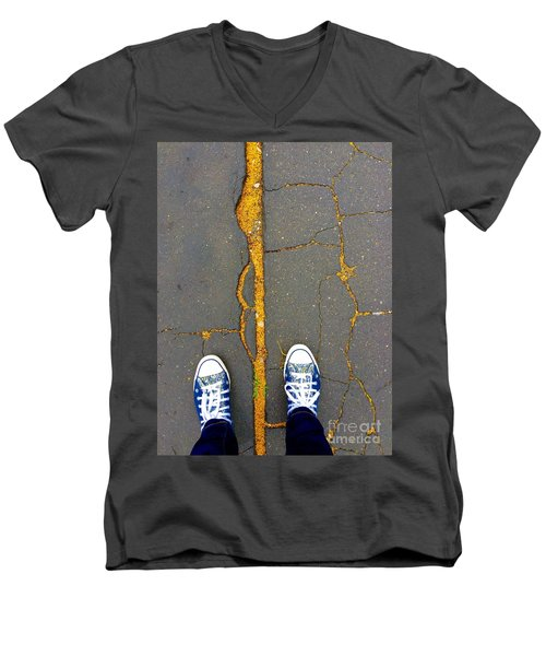 Feet Around The World #26 Men's V-Neck T-Shirt