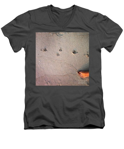 Feet Around The World #31 Men's V-Neck T-Shirt