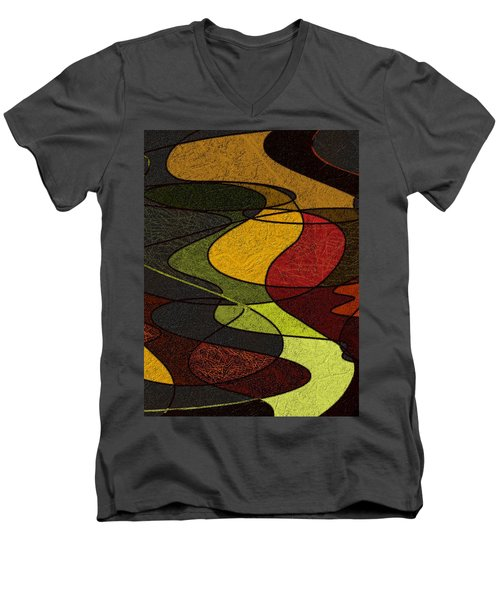 Felt Men's V-Neck T-Shirt