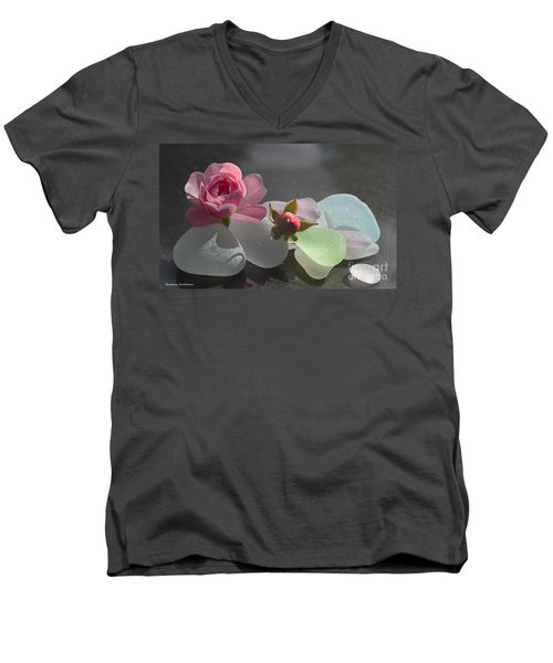 Feminine Men's V-Neck T-Shirt