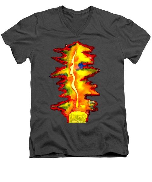 Feminine Light Men's V-Neck T-Shirt
