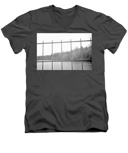 Fence Against Nature Men's V-Neck T-Shirt