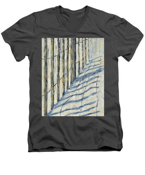 Fence At Palmetto Dunes Men's V-Neck T-Shirt