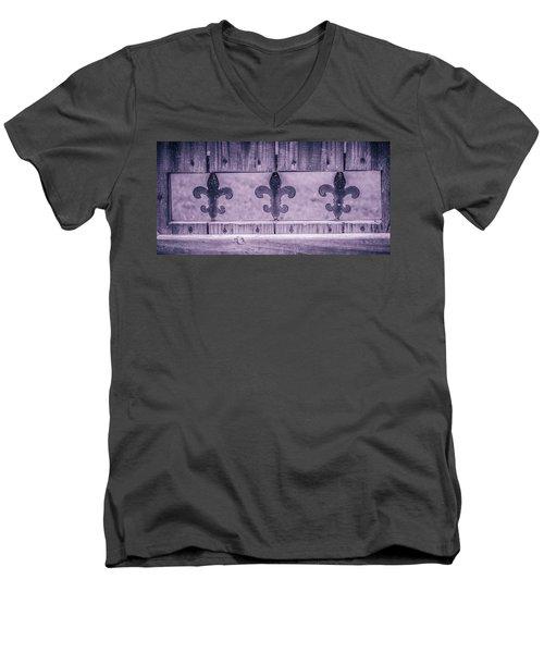Fenced In Men's V-Neck T-Shirt