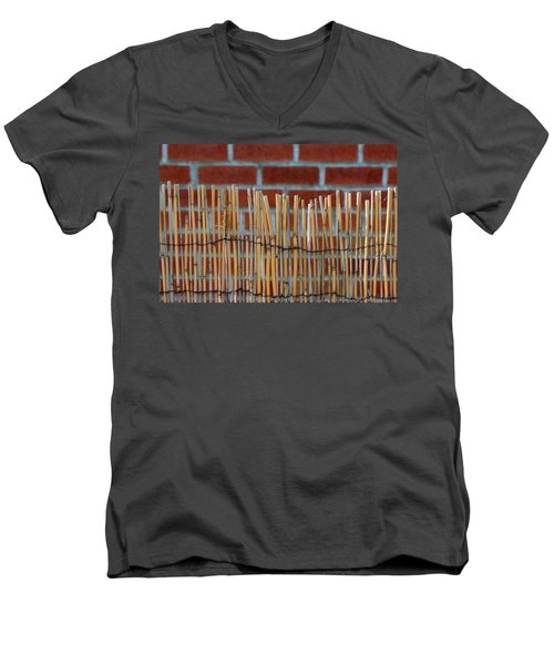 Fencing In The Wall Men's V-Neck T-Shirt