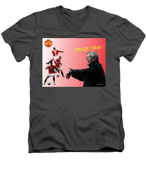 Fergie Time Men's V-Neck T-Shirt