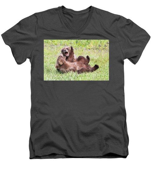 Ferocious Men's V-Neck T-Shirt