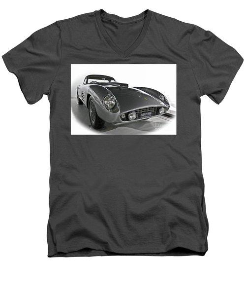 Ferrari Classic 3 Men's V-Neck T-Shirt