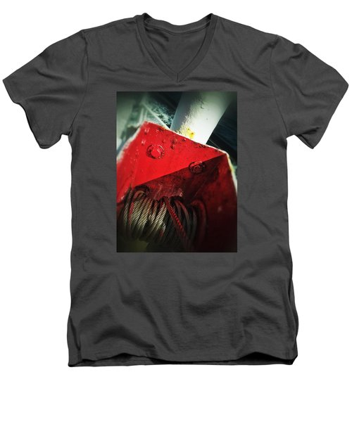 Ferry Hardware Men's V-Neck T-Shirt