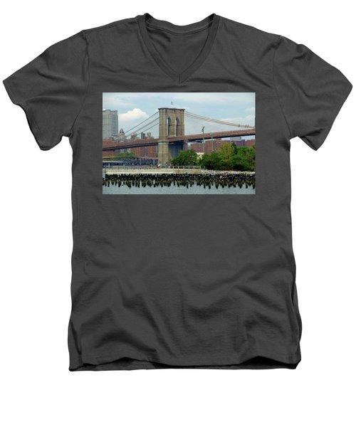 Ferry Hopping Men's V-Neck T-Shirt